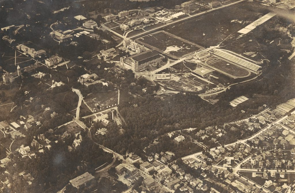 Overview of campus i the1901s