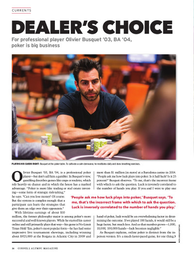 Magazine page image for Dealer's Choice