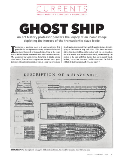 Magazine page image for Ghost Ship