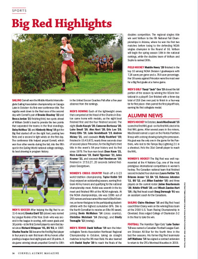 Magazine page image for Sports