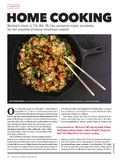 Magazine cover page for Home Cooking