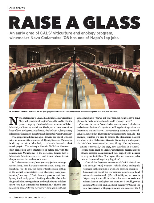 Magazine page image for Raise a Glass