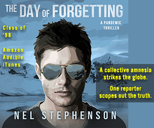 Ad for The Day of Forgetting book