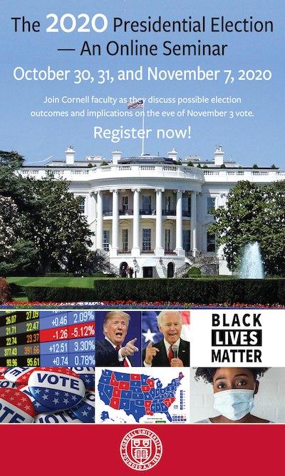The Presidential Election seminar ad