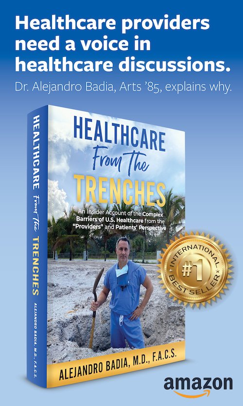 Healthcare from the trenches ad