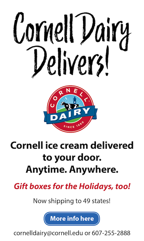 Cornell Dairy Delivers ad