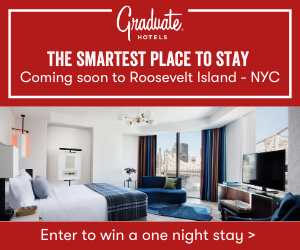 The Graduate Hotel ad in NYC